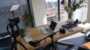 Opnamestudio in Rotterdam