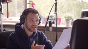 Mannelijke voice-over