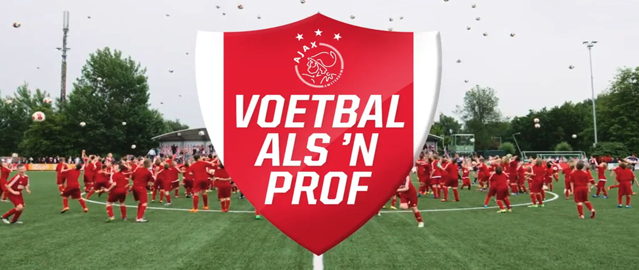 Ajax Clinic | Voetbal als 'n prof | After Movie